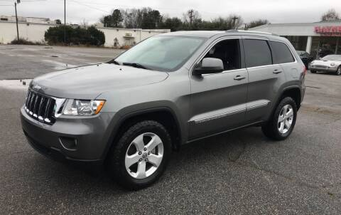 2012 Jeep Grand Cherokee for sale at Haynes Auto Sales Inc in Anderson SC