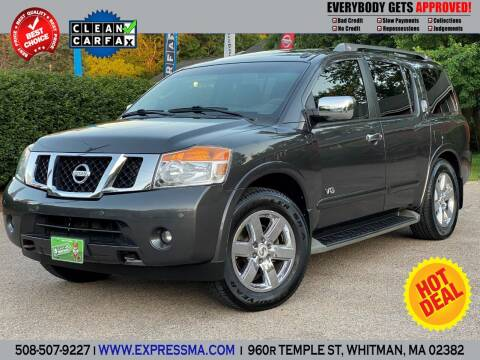 2009 Nissan Armada for sale at Auto Sales Express in Whitman MA