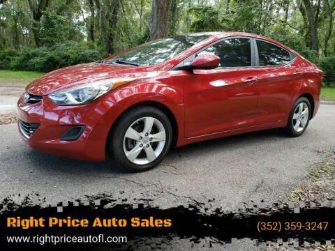 2013 Hyundai Elantra for sale at Right Price Auto Sales-Gainesville in Gainesville FL
