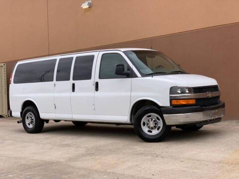 2015 Chevrolet Express Passenger for sale at Texas Prime Motors in Houston TX