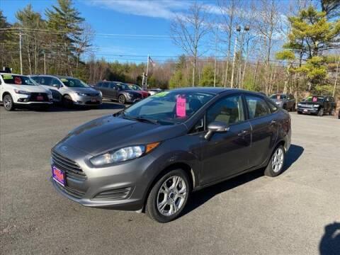 2014 Ford Fiesta for sale at North Berwick Auto Center in Berwick ME