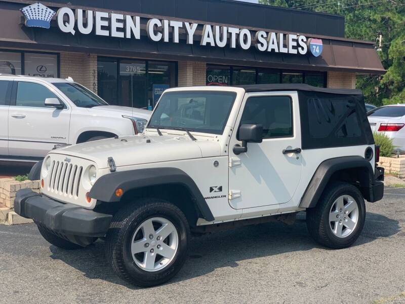 2008 Jeep Wrangler for sale at Queen City Auto Sales in Charlotte NC