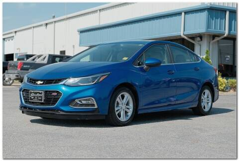2017 Chevrolet Cruze for sale at STRICKLAND AUTO GROUP INC in Ahoskie NC