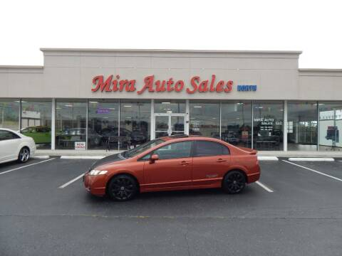 2010 Honda Civic for sale at Mira Auto Sales in Dayton OH