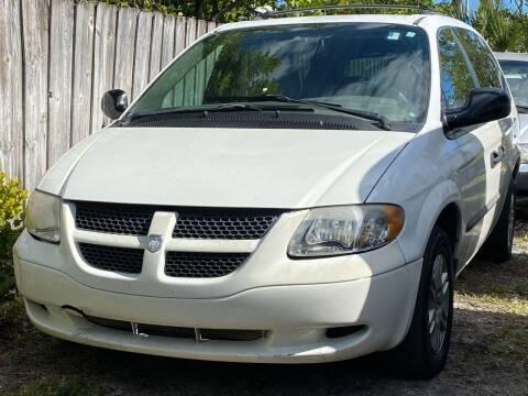 2003 Dodge Grand Caravan for sale at KD's Auto Sales in Pompano Beach FL