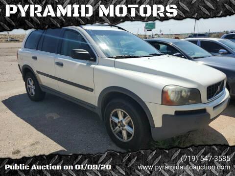 2003 Volvo XC90 for sale at PYRAMID MOTORS - Pueblo Lot in Pueblo CO