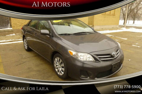 2013 Toyota Corolla for sale at A1 Motors Inc in Chicago IL