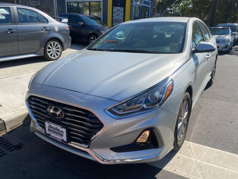 2019 Hyundai Sonata for sale at DEALS ON WHEELS in Newark NJ