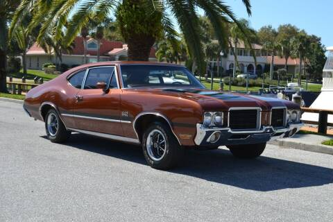 1971 Oldsmobile Cutlass for sale at GulfCoast Motorsports in Osprey FL
