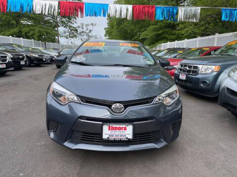 2016 Toyota Corolla for sale at Elmora Auto Sales in Elizabeth NJ