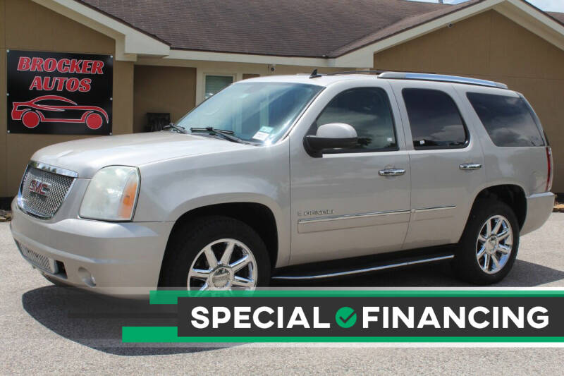 2009 GMC Yukon for sale at Brocker Autos in Humble TX