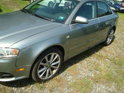 2008 Audi A4 for sale at Branch Avenue Auto Auction in Clinton MD