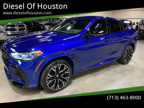 2020 BMW X6 M for sale at Diesel Of Houston in Houston TX