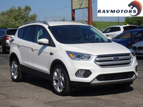 2019 Ford Escape for sale at RAVMOTORS in Burnsville MN