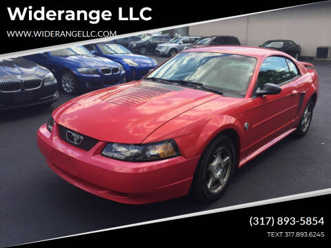 2004 Ford Mustang for sale at Widerange LLC in Greenwood IN