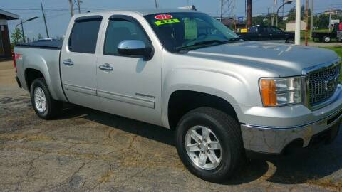 2011 GMC Sierra 1500 for sale at AutoBoss PRE-OWNED SALES in Saint Clairsville OH