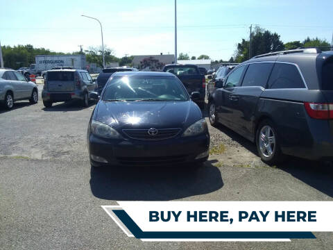 2002 Toyota Camry for sale at Marino's Auto Sales in Laurel DE