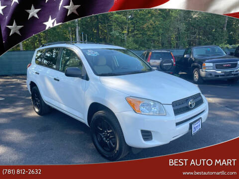 2011 Toyota RAV4 for sale at Best Auto Mart in Weymouth MA