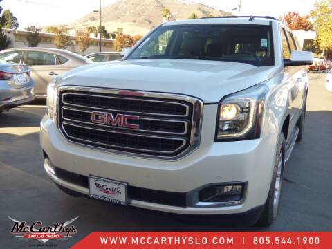 2015 GMC Yukon XL for sale at McCarthy Wholesale in San Luis Obispo CA