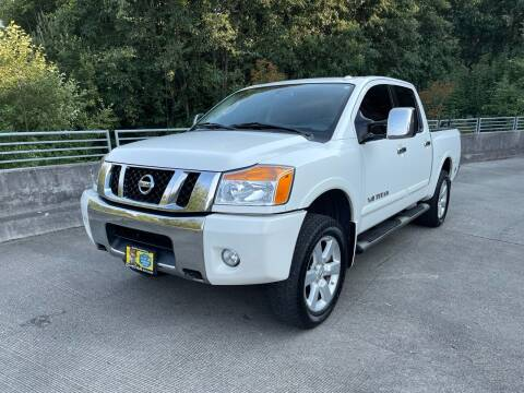 2010 Nissan Titan for sale at Zipstar Auto Sales in Lynnwood WA