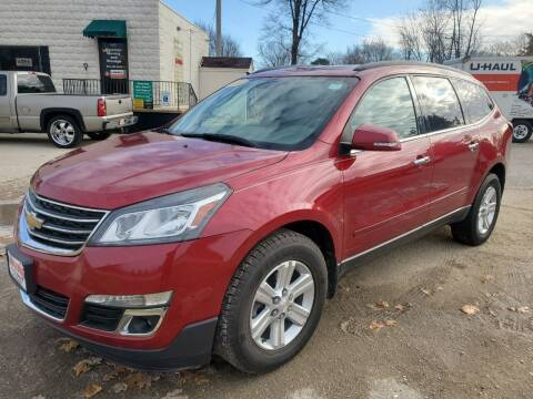 2014 Chevrolet Traverse for sale at AMAZING AUTO SALES in Marengo IL