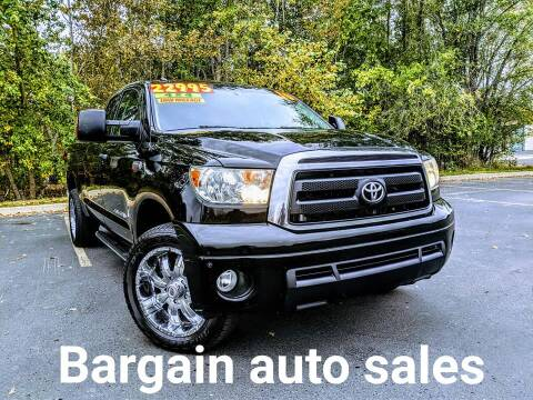 2010 Toyota Tundra for sale at Bargain Auto Sales LLC in Garden City ID