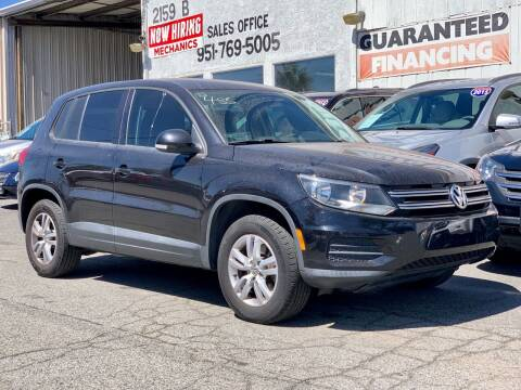 2013 Volkswagen Tiguan for sale at Auto Source in Banning CA