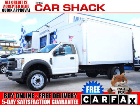 2018 Ford F-450 Super Duty for sale at The Car Shack in Hialeah FL