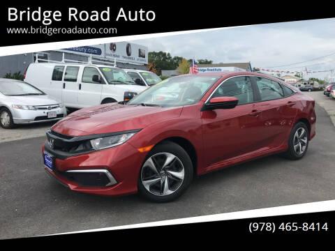 2020 Honda Civic for sale at Bridge Road Auto in Salisbury MA