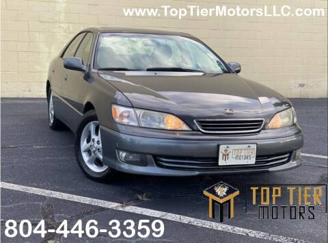 2000 Lexus ES 300 for sale at Top Tier Motors  LLC in Colonial Heights VA
