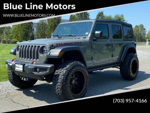 2021 Jeep Wrangler Unlimited for sale at Blue Line Motors in Winchester VA