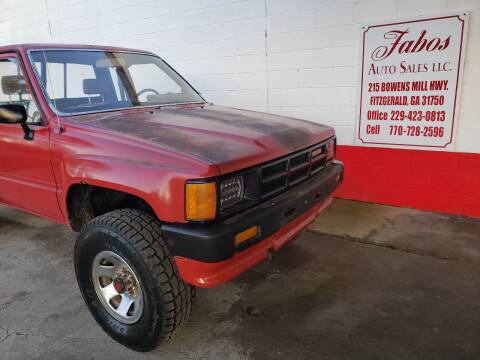1986 Toyota Pickup for sale at Fabos Auto Sales LLC in Fitzgerald GA