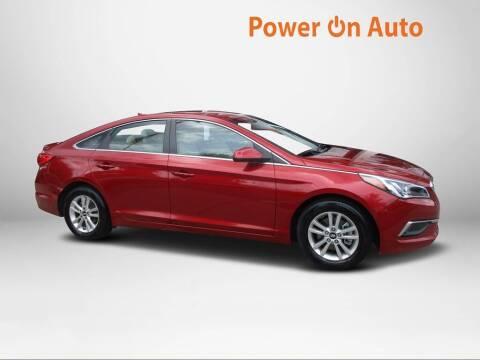 2016 Hyundai Sonata for sale at Power On Auto LLC in Monroe NC