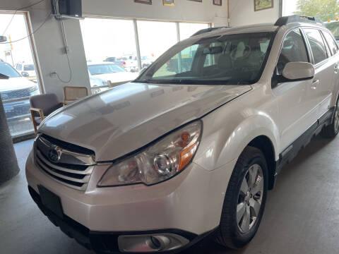 2011 Subaru Outback for sale at PYRAMID MOTORS - Pueblo Lot in Pueblo CO
