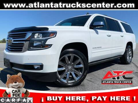 2015 Chevrolet Suburban for sale at ATLANTA TRUCK CENTER LLC in Brookhaven GA