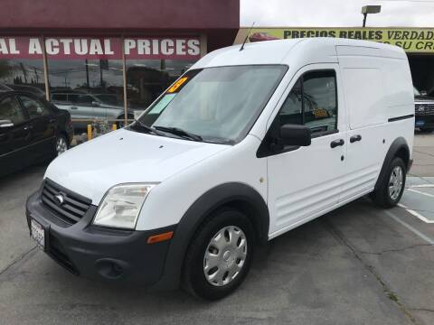 2013 Ford Transit Connect for sale at Sanmiguel Motors in South Gate CA