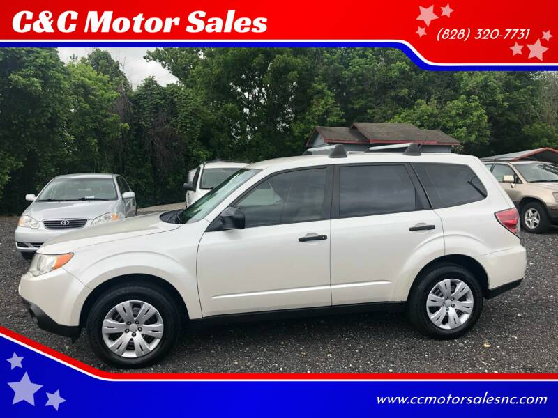 2010 Subaru Forester for sale at C&C Motor Sales LLC in Hudson NC