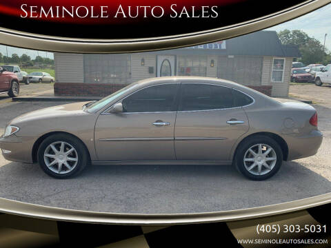 2006 Buick LaCrosse for sale at Seminole Auto Sales in Seminole OK