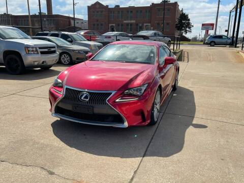 2015 Lexus RC 350 for sale at Southwest Sports & Imports in Oklahoma City OK