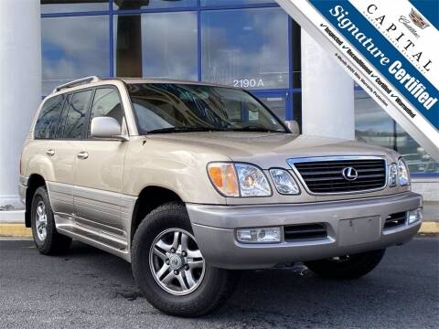 2002 Lexus LX 470 for sale at Capital Cadillac of Atlanta in Smyrna GA