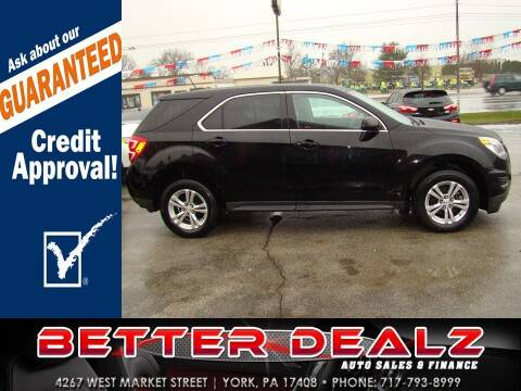 2017 Chevrolet Equinox for sale at Better Dealz Auto Sales & Finance in York PA