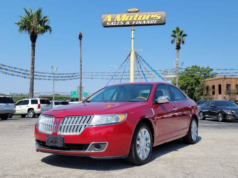 2012 Lincoln MKZ for sale at A MOTORS SALES AND FINANCE - 6226 San Pedro Lot in San Antonio TX