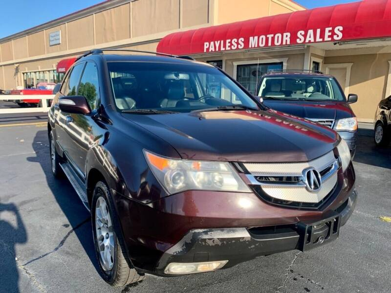 2009 Acura MDX for sale at Payless Motor Sales LLC in Burlington NC