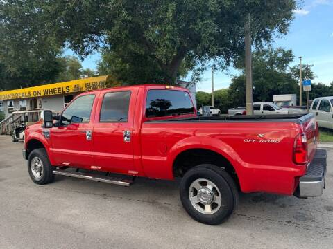 2009 Ford F-250 Super Duty for sale at DAN'S DEALS ON WHEELS in Davie FL