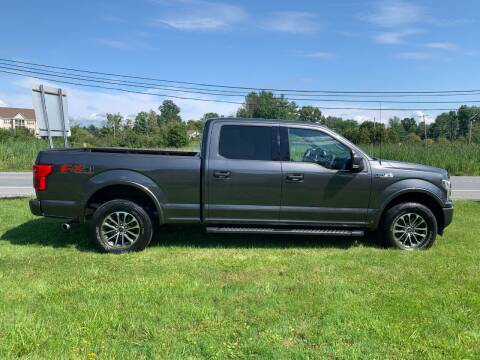 2018 Ford F-150 for sale at Saratoga Motors in Gansevoort NY