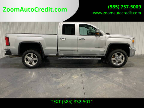 2016 GMC Sierra 2500HD for sale at ZoomAutoCredit.com in Elba NY