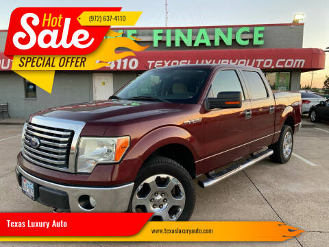 2010 Ford F-150 for sale at Texas Luxury Auto in Cedar Hill TX