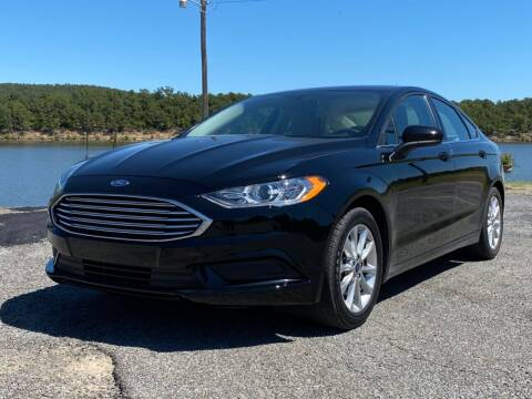 2017 Ford Fusion for sale at TINKER MOTOR COMPANY in Indianola OK