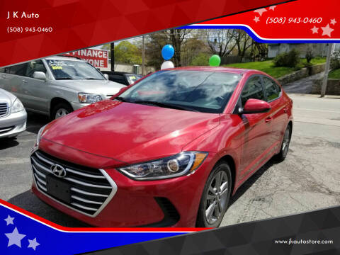 2018 Hyundai Elantra for sale at Webster Auto Sales in Webster MA