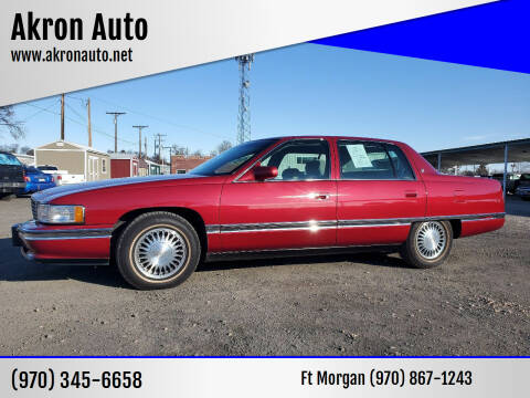 1994 Cadillac DeVille for sale at Akron Auto in Akron CO